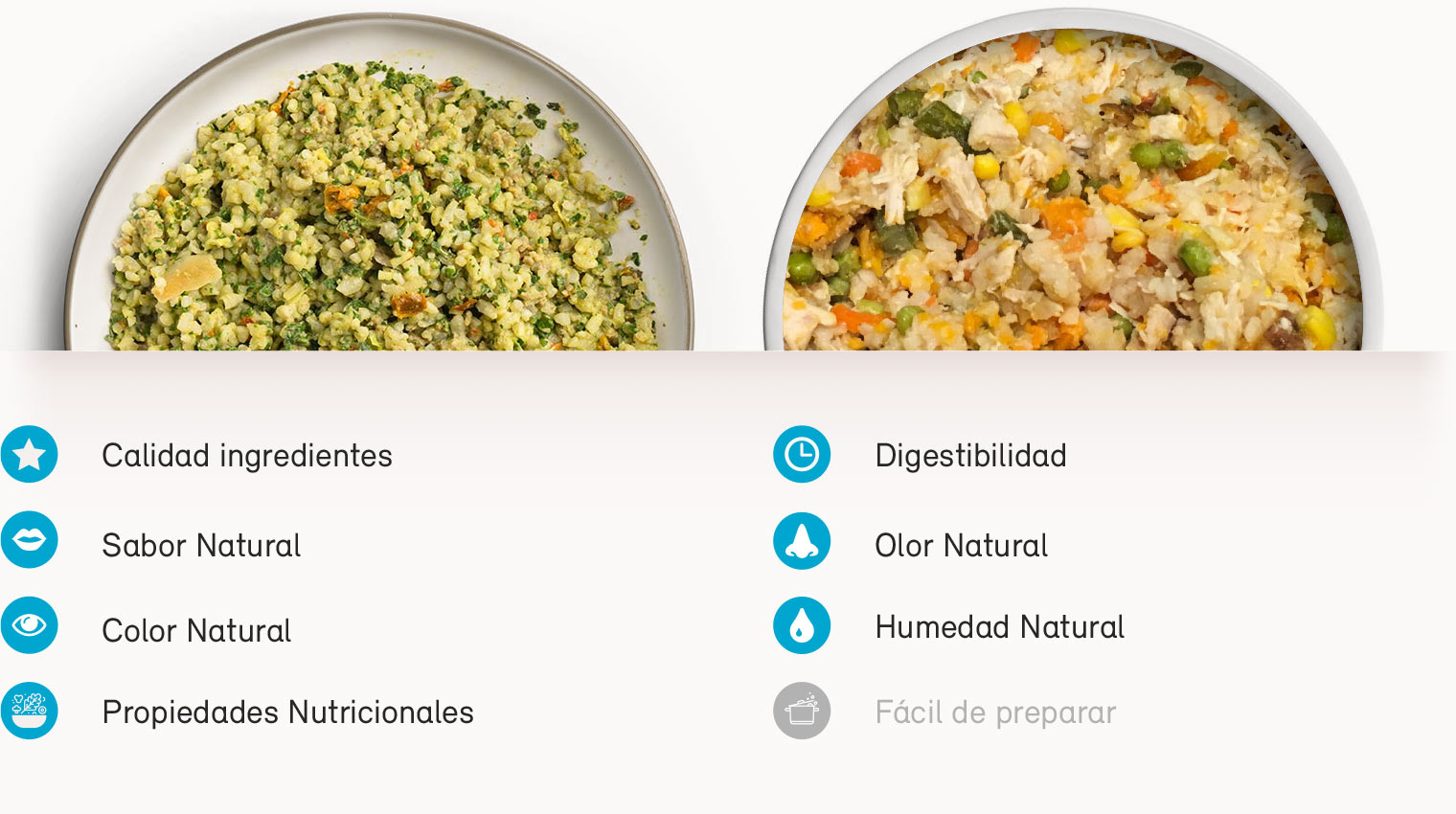 Naku versus comida casera